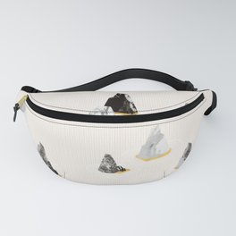 Marble Rock Formation Fanny Pack