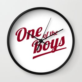 One of The Boys Wall Clock