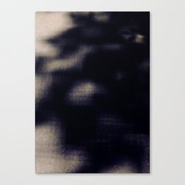 Street Shadow Tree Blurry Abstract Pixel Canvas Print