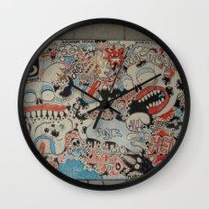 Urban art Wall Clock