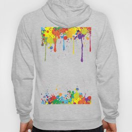 Paint Watercolor Splatter Hoody
