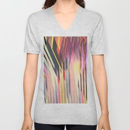 Abstract Composition 615 Unisex V-Neck