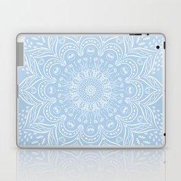 Baby Blue Boho Mandala Laptop & iPad Skin