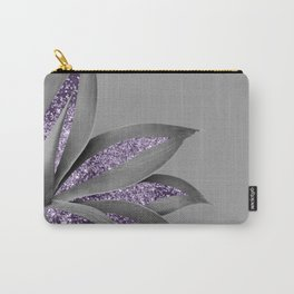 Agave Finesse Glitter Glam #4 #tropical #decor #art #society6 Carry-All Pouch