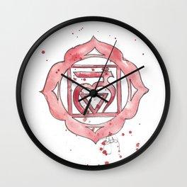 First Chakra Muladhara Wall Clock