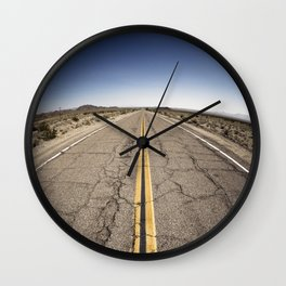 Roadtrip on the Route 66 Wall Clock