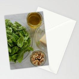 Fresh Pesto Stationery Cards