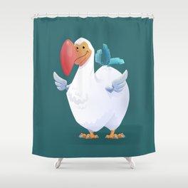 Dodo Bird Shower Curtain