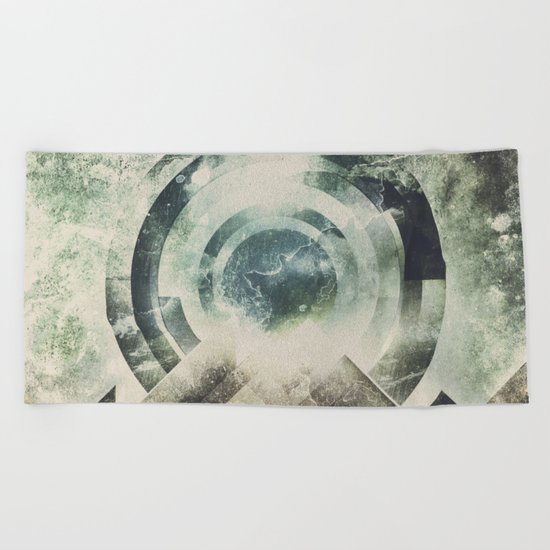 Moon travel Beach Towel