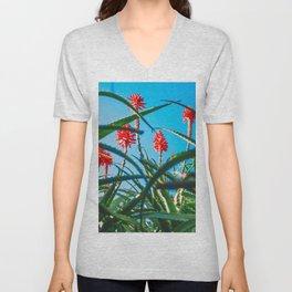 Flora California Unisex V-Neck