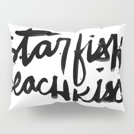 Starfish Beachkiss Pillow Sham
