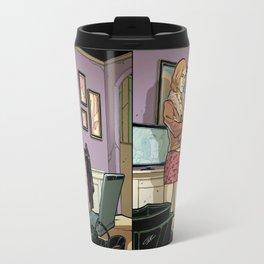 Spy Woman Travel Mug