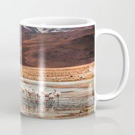 Flamingo Lake, Bolivia #society6 #buyart #homedecor Coffee Mug