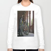 bikes Long Sleeve T-shirts featuring Bikes by Photaugraffiti