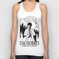 the hobbit Tank Tops featuring The Hobbit by LinhBR