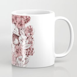 Flower Skull Coffee Mug