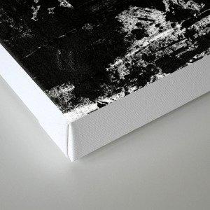 Distressed Grunge 102 in B&W Canvas Print