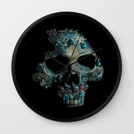 Holy Starman Skull Wall Clock