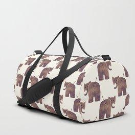 Elephant's butt Duffle Bag