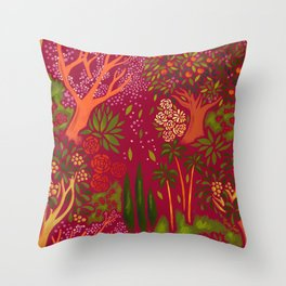 Inner Bloom Throw Pillow