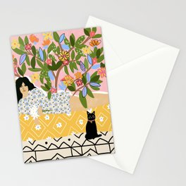Paint Me Like One of Your French Ladies Stationery Cards