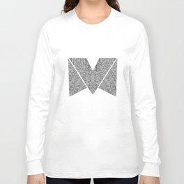 M zigzag Long Sleeve T-shirt