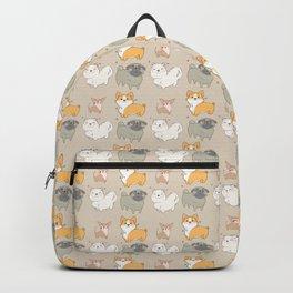 Kawai dogs - chihuahua - corgi - pug - pets Backpack