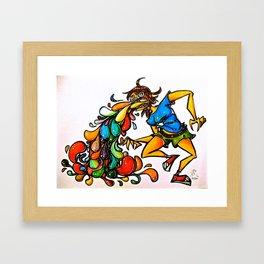 BLEAUGH Framed Art Print
