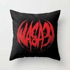 Bloody.Logo. Throw Pillow