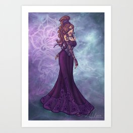 Evening Meg Art Print