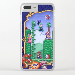 Mario Super Bros, Too Clear iPhone Case