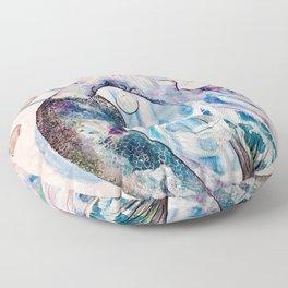 Lemurian Light of Life Floor Pillow