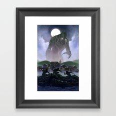 Devil's Reef Framed Art Print