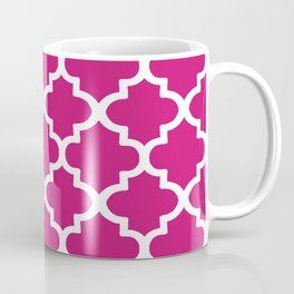 Arabesque Architecture Pattern In Dull Pink Coffee Mug
