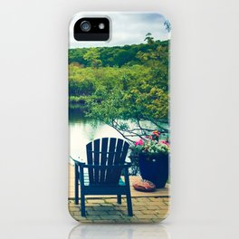 Cape Cod Summer View iPhone Case