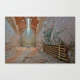Abandoned Prison Cell Canvas Print
