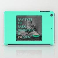 ramen iPad Cases featuring ramen lover by AmDuf
