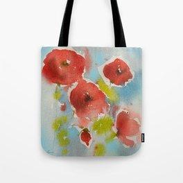 Roses (watercolor) Tote Bag