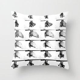 Mon petit chauve-souris // baby bat sequence Throw Pillow