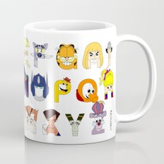 Child of the 80s Alphabet Mug