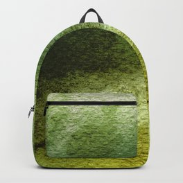 ABSTRACT GREENERY AQUARELL Backpack