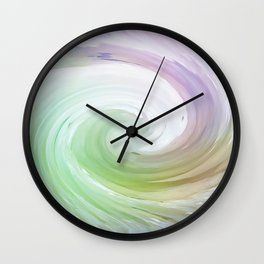 Crystallized Color Wall Clock