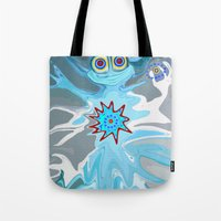 rare Tote Bags featuring Rare Card by Gregree