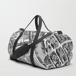 Map of Paris 1793 Duffle Bag