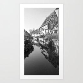Fantasy of Alsace Art Print