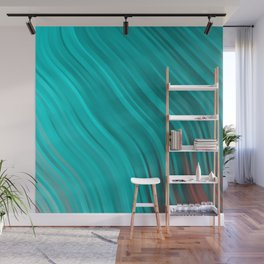 stripes wave pattern 1 2sv Wall Mural