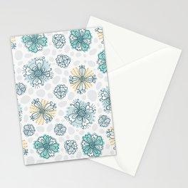 Beautiful flower pattern Stationery Cards
