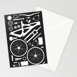 Bike Parts - Mojo Stationery Cards