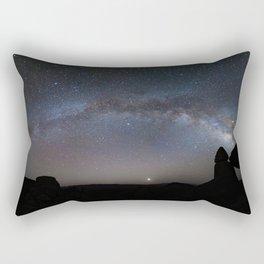 Balanced Rock, Balanced Sky Rectangular Pillow