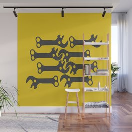 key! yellow Wall Mural